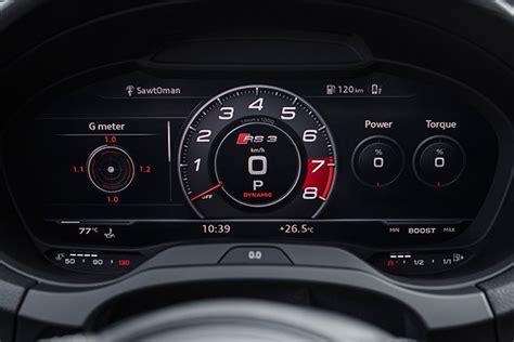 audi rs sedan review motor