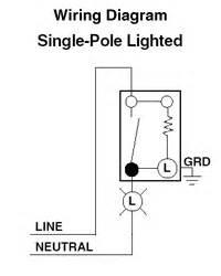rocker lighted switch and gfci outlet electrical diy With rocker switch wiring diagram further 3 wire toggle switch wiring
