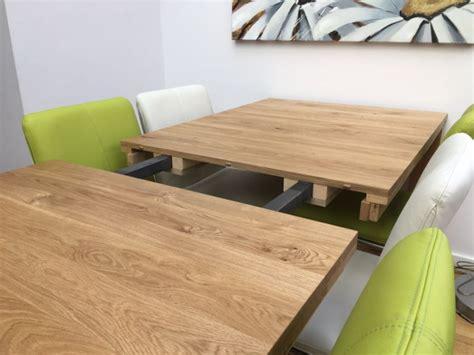 uitschuifbare eettafel eiken uitschuifbare tafel stretch de eiken tafel nl