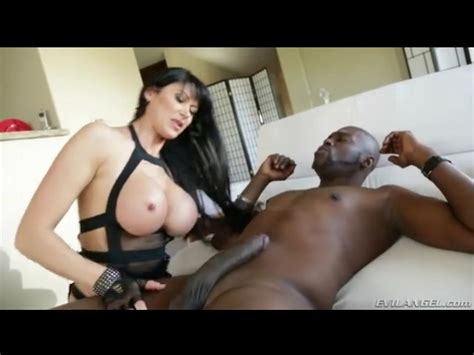 Fishnets And Lingerie Make Hot Milf Sexy For Bbc Milf Porn