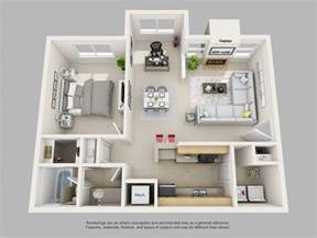 2 bedroom 1 bath floor plans park on clairmont apartments floor plans and models