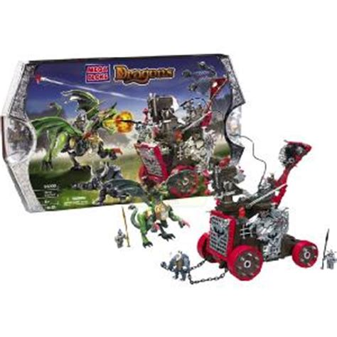 siege chariot megabloks dragons