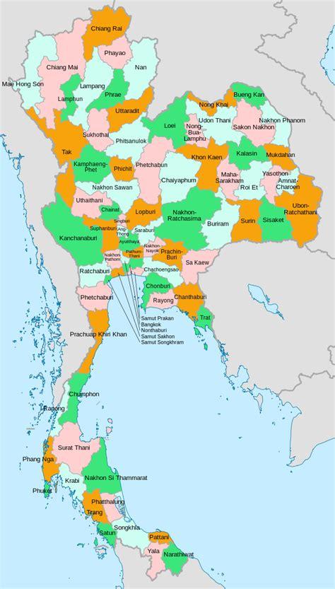 templateprovinces  thailand image map wikipedia