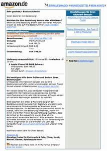 Amazon Mein Konto Rechnung : amazon bestellbest tigung auf echtheit pr fen bastianoso amazon bestellbest tigung fake ~ Themetempest.com Abrechnung