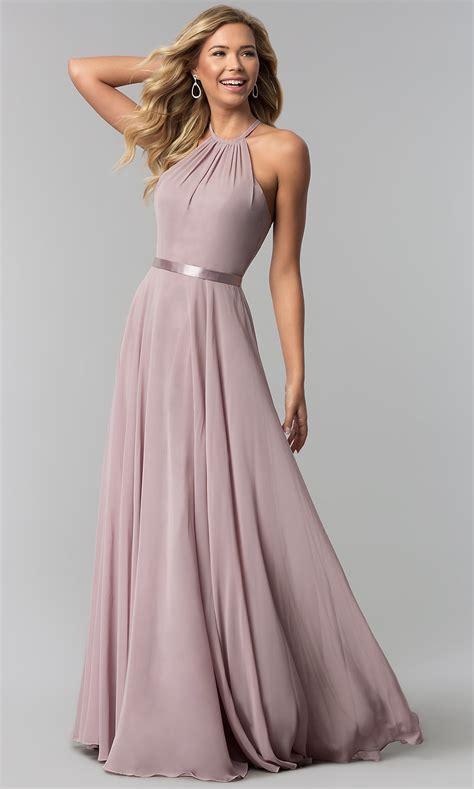 formal   chiffon long formal prom dress promgirl