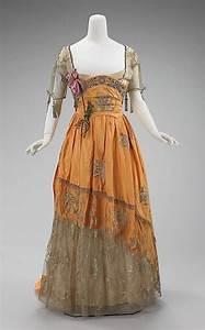 Evening dress, 1910-14 House of Worth | I Like | Pinterest