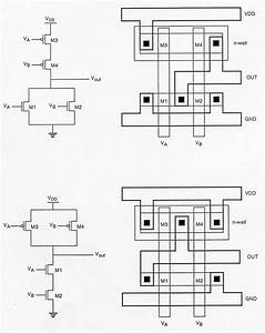 Cmos Xor Gate Stick Diagram