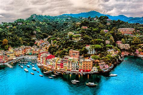 Portofino Picture by Portofino Italy 40 X 60 Photograph By Paul