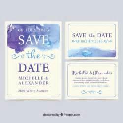 wedding invitation cards watercolor wedding invitation cards vector free