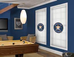 officially licensed mlb� houston astros window blinds