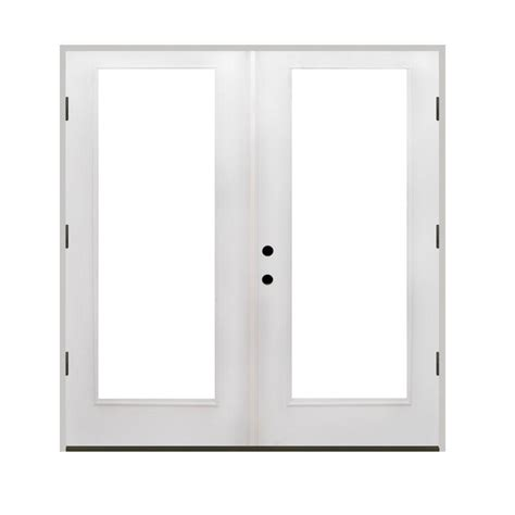 Simonton Patio Doors Home Depot by Simonton 96 In X 80 In 2 Panel White Contemporary Vinyl