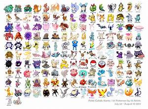 heres 151 pokemon drawn by 151 different artists