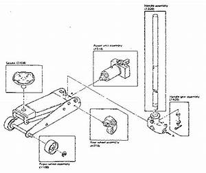 Craftsman Model 32812190 Jack Hydraulic Genuine Parts