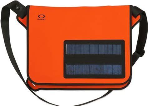 o range waterproof solar panels messenger bag in orange for lyst