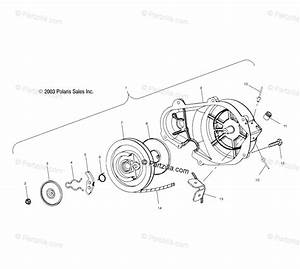 Polaris Snowmobile 2004 Oem Parts Diagram For Recoil