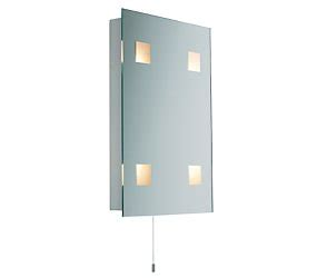 bhs small rectangular bathroom wall light review