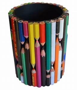Happy Handicraft Workshop Multicolor Recycle Pen Stand