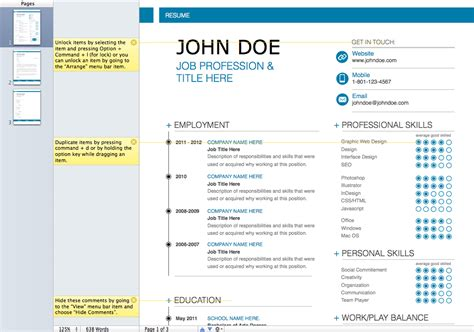 Modern Resume Layouts by Modern Resume Exles