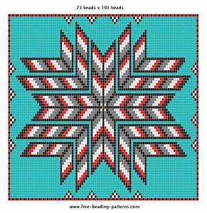 Native American Beading Pattern | Loom and peyote beading ...