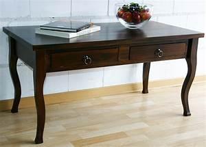 Massivholz Tisch : massivholz tisch couchtisch sofatisch wohnzimmertisch ~ Pilothousefishingboats.com Haus und Dekorationen
