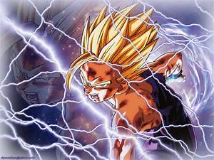 DRAGON BALL Z WALLPAPERS: Teen Gohan super saiyan 2