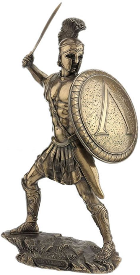 Spartan Warrior with Sword and Shield, STU-Home ...