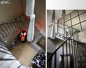 decoration entree de maison avec escalier With deco entree avec escalier