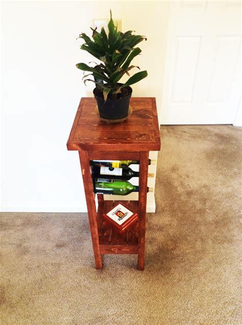 diy plant stand  wine rack myoutdoorplans