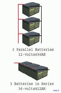 How To Connect Batteries In Series Diagram  How  Free Engine Image For User Manual Download