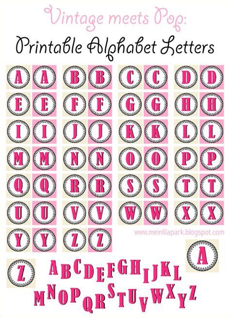 printable vintage ornament alphabet letters