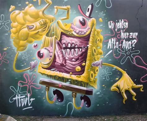 Crazy Good Graffiti By Hrvb Theweird