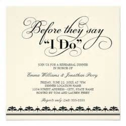 wedding rehearsal invitations white wedding invitations wedding rehearsal dinner invitations
