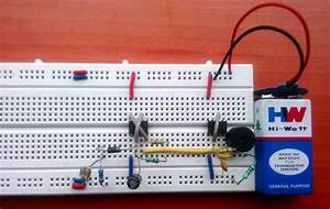 Fridge Door Alarm Circuit Diagram Using 555 And Ldr