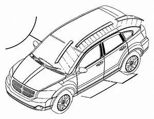 2010 Dodge Caliber Applique  Roof Panel  Left  Color   No Description Available  Exterior