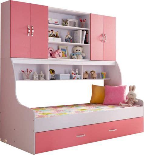 lit de fille ado couleur pour chambre de lit fille avec rangement