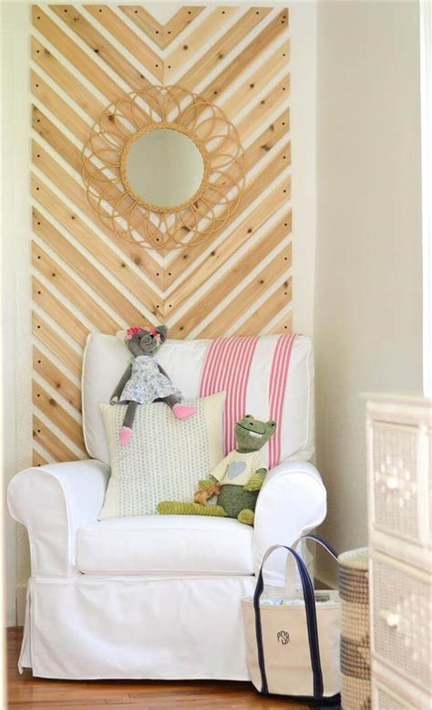 diy stylish accent wall design diy