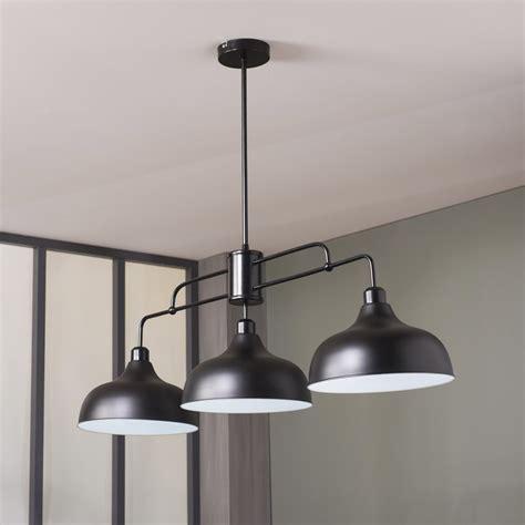 lustre de cuisine le suspension led plafonnier lustre de cuisine le pendante marron
