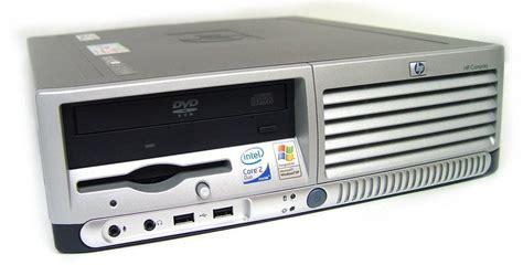 ordinateur de bureau compaq personal computer 2 duo hp dc7700 sff ecosocialstore