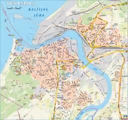 Ventspils Latvia Map