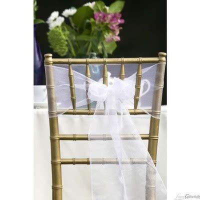 ivory organza chair sashes 20 340299 wedding