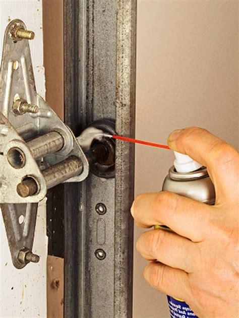lubricating garage door how to lubricate garage door track ppi