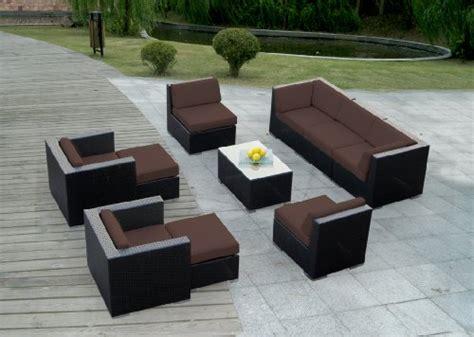 1 gt gt genuine ohana outdoor patio wicker sofa sectional