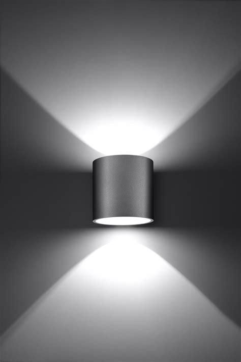 up leuchte neu led g9 wandleuchte up effektleuchte grau sl0049 wohnraumleuchten wand und decke