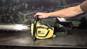 The Chainsaw Guy Shop Talk Pioneer P41 Chainsaw 10 8