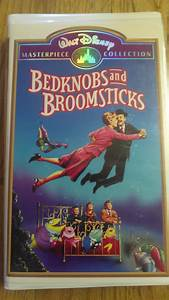 Bedknobs and Broomsticks ( VHS ) [ Clamshell ] Masterpiece ...