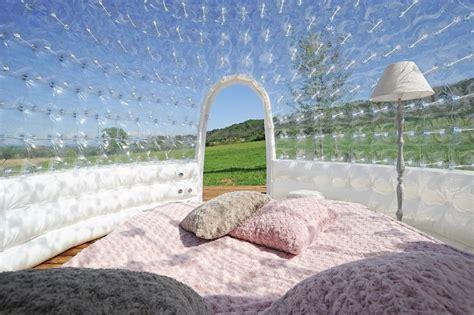 chambre bulle chambre bulle une nuit insolite en isère domaine de suzel
