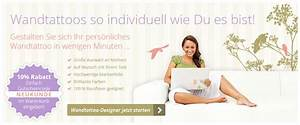 Tapeten Auf Rechnung Bestellen Als Neukunde : wandtattoos kaufen und kostenlos selbst gestalten auf rechnung ~ Themetempest.com Abrechnung