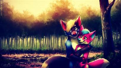 Furry Anime Couple Anthro Wallpapers Cool Desktop