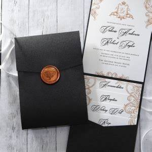 view all wedding invitation designs by adorn With pocket card wedding invitations uk