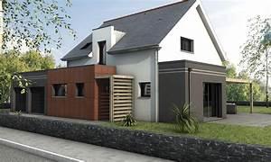 Style Contemporain : maison contemporaine sur mesure 44 56 85 depreux ~ Farleysfitness.com Idées de Décoration